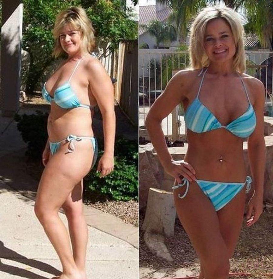 Результат после похудения фото