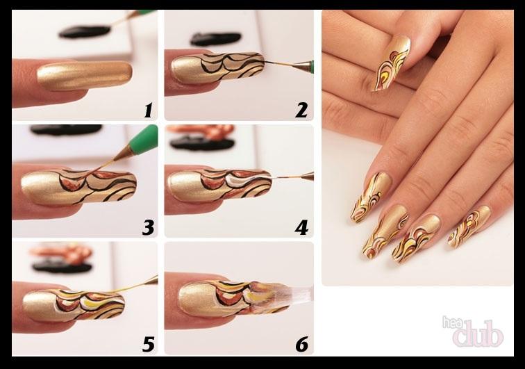Розы на ногтях  как нарисовать идеи дизайнов с фото