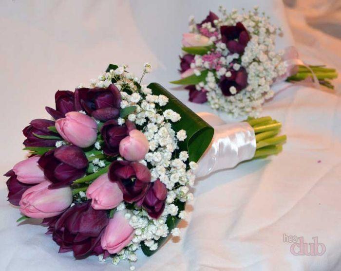 Wie Man Einen Hochzeitsblumenstrauss Aus Satinbandern Herstellt