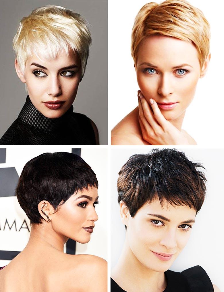 Haarschnitte Für Mädchen Mit Einem Knall Kurze Graduierte