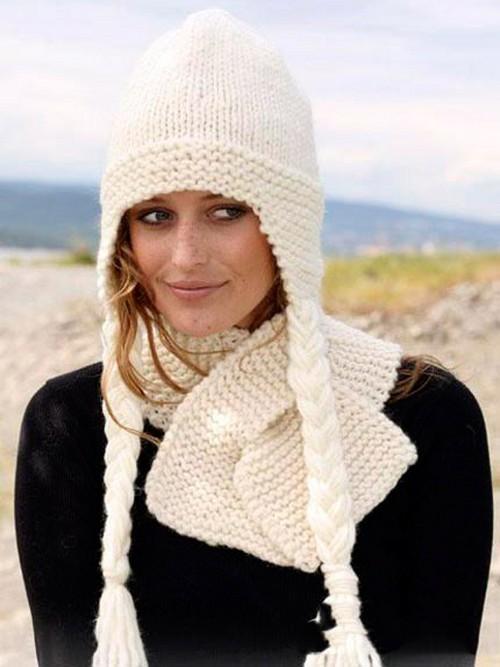 Cappelli di moda a maglia Grande maglia strutturata. Descrizione e ... 81743a1b747f