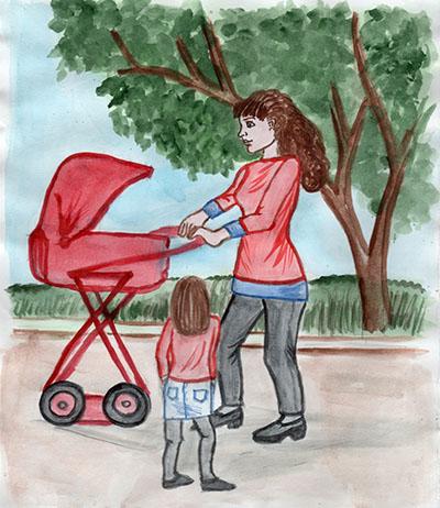 Kinder Ziehen Mutter Zum Muttertag Wie Schon Und Einfach Ist Es
