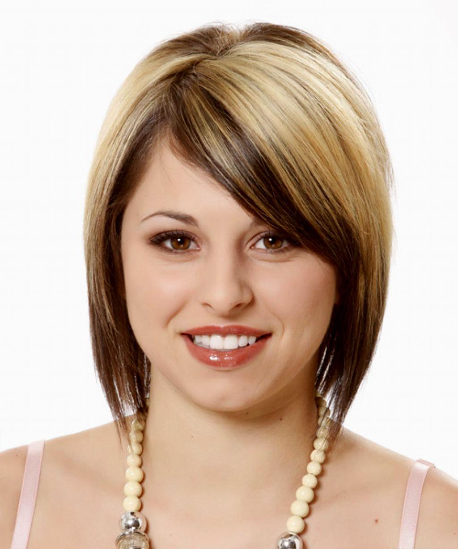 Corte cabello cara diamante mujer
