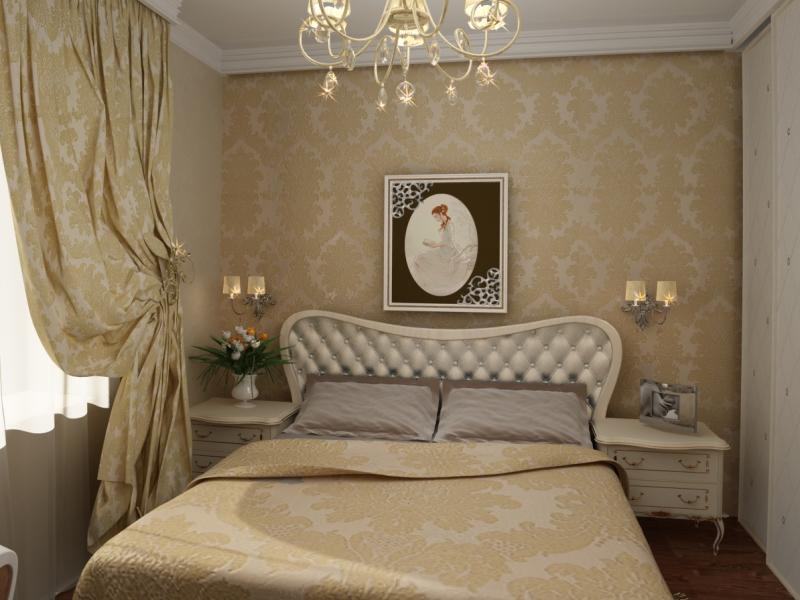 Cosa possono fare i muri nella camera da letto. Design e decorazione ...
