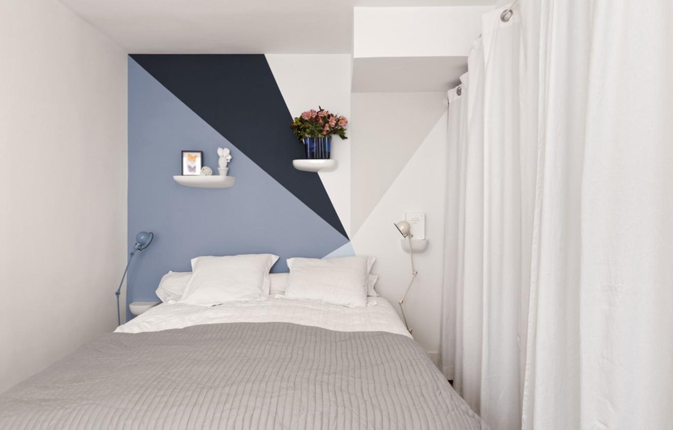 Camere Da Letto Rosse E Bianche : Cosa possono fare i muri nella camera da letto. design e decorazione