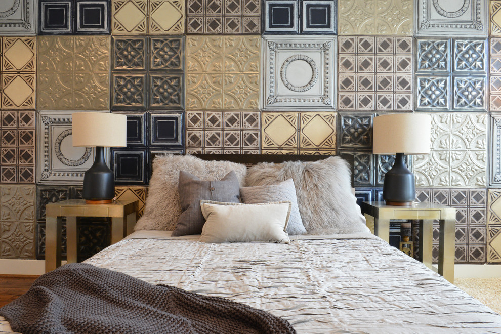Cosa possono fare i muri nella camera da letto design e
